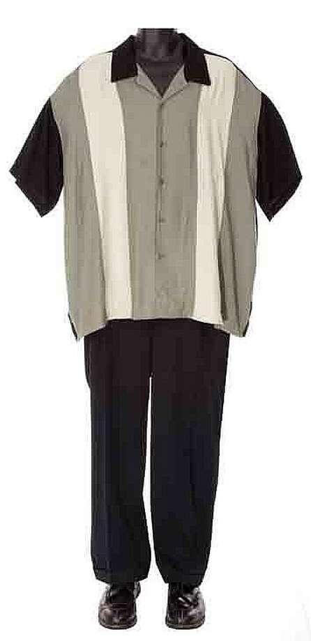 "Lot 367: James Gandolfini's screen-worn ""Tony Soprano"" costume – $22,000:"