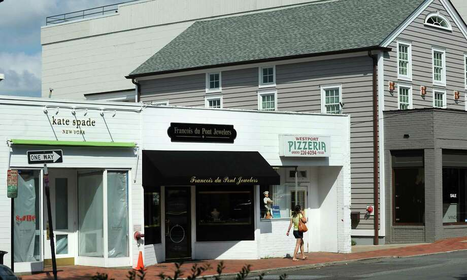 Connecticut properties that Greenwich real estate mogul Peter Malkin and his son, Anthony, are trying to bundle into a real estate investment trust include 103-107 Main Street in Westport. Photo: Cathy Zuraw / Connecticut Post