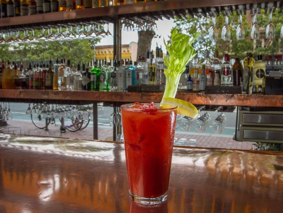 The Balsamic Bloody Mary at the Zuni Cafe. And, scene. Photo: John Storey, Special To The Chronicle