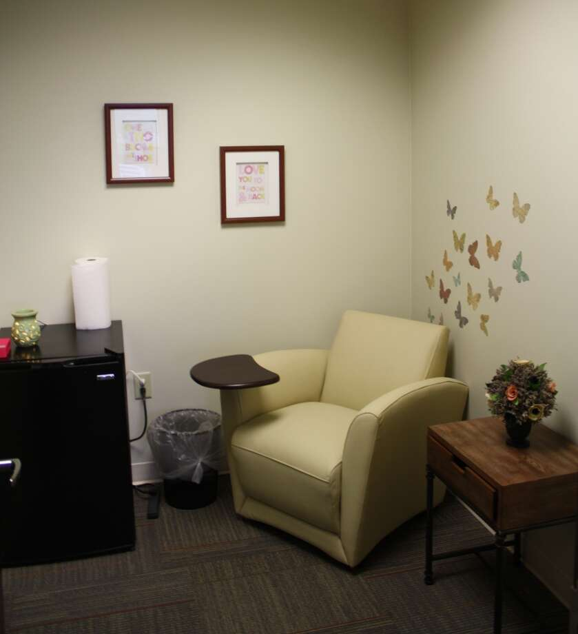The Mother's Room at Generations Federal Credit Union is a welcome respite for new mothers who need to use a breast pump in private. Photo: Courtesy Photo
