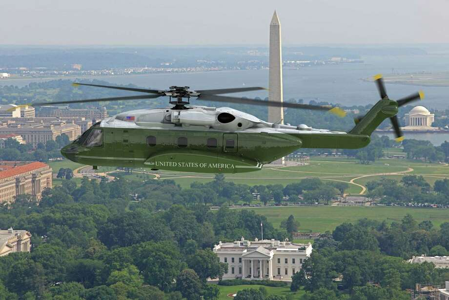 A rendering of the helicopter that Sikorsky wants to build for the president. Photo: Sikorsky Aircraft