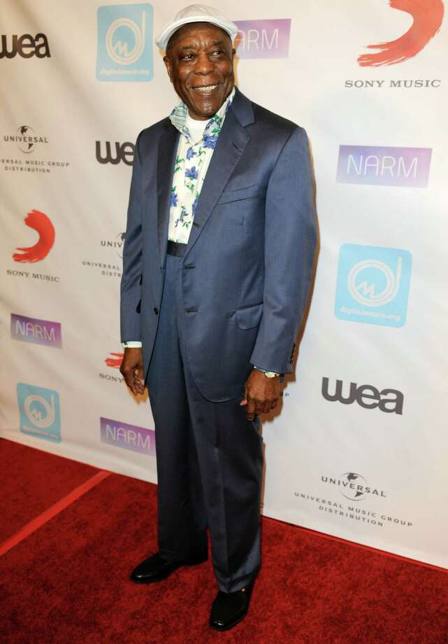 Buddy Guy arrives at the NARM Music Biz 2013 Dinner Party at the Hyatt Regency Century City Plaza Hotel on Thursday, May 9, 2013 in Century City, Calif. (Photo by Richard Shotwell/Invision/AP) Photo: Richard Shotwell / Invision