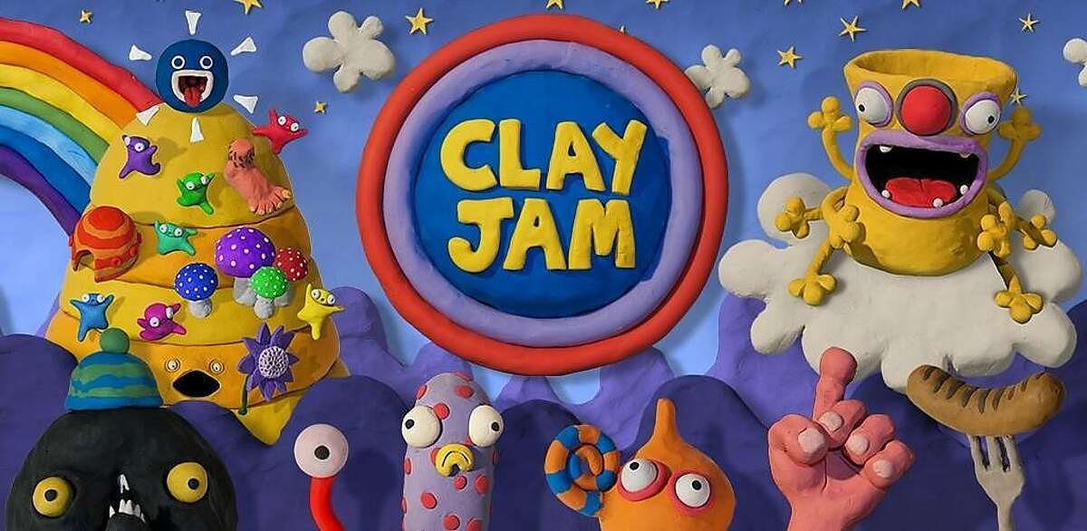 """""""Clay Jam"""" was created by Fat Pebble of Brighton, England, and is published by Zynga. The game features a rolling clay ball that flattens foes while dodging obstacles."""