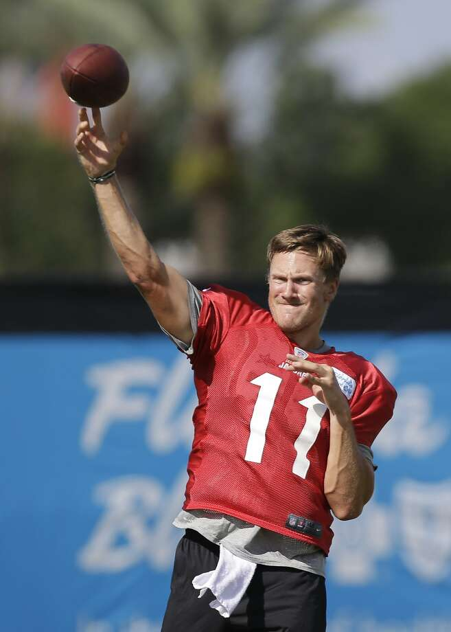 Blaine Gabbert took hits to his body and his reputation while playing three seasons with the lowly Jacksonville Jaguars. Photo: John Raoux, Associated Press