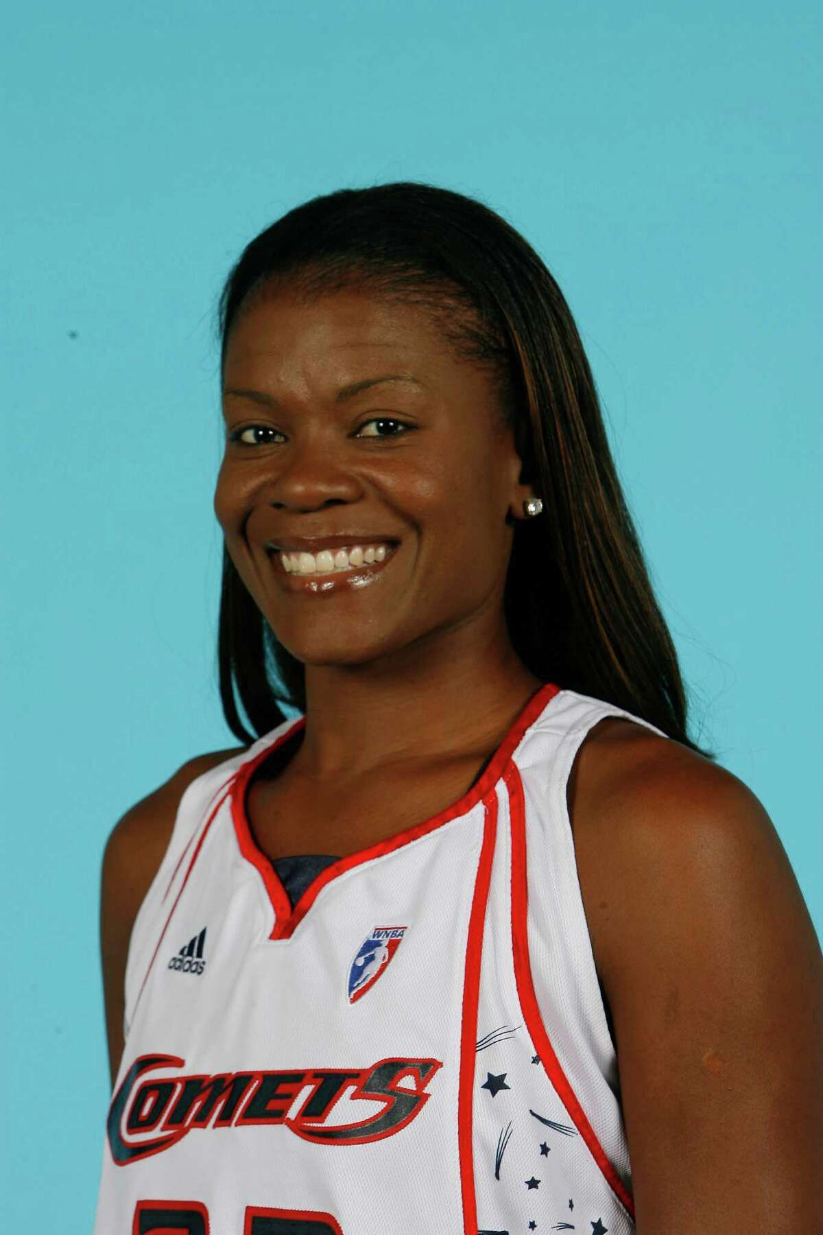 Sheryl Swoopes plays forward for the Houston Comets. Media day for the Houston Comets was held Monday, May 7, 2007, in Houston. ( Steve Campbell / Chronicle )