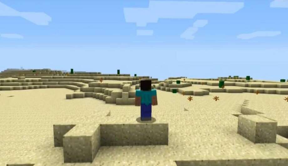 No. 7: Minecraft Microsoft Game Studios Xbox 360 Action-adventure Weekly units sold: 20,215 Total units sold: 274,356 Number of weeks available: 7 Photo: Microsoft Game Studios