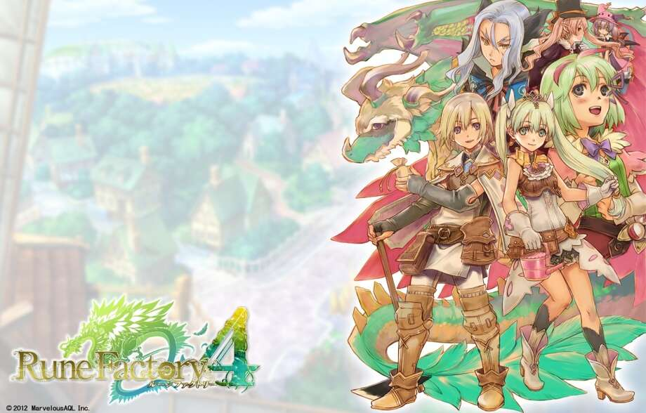 No. 6: Rune Factory 4: A Fantasy Harvest Moon Marvelous Entertainment Nintendo 3DS Role-playing game Weekly units sold: 24,771 Total units sold: 24,771 Number of weeks available: 1 Photo: Marvelous Entertainment