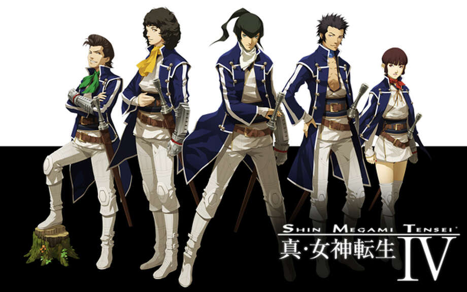 No. 2: Shin Megami Tensei IV Atlus Nintendo 3DS Role-playing game Weekly units sold: 75,746 Total units sold: 75,746 Number of weeks available: 1 Photo: Atlus