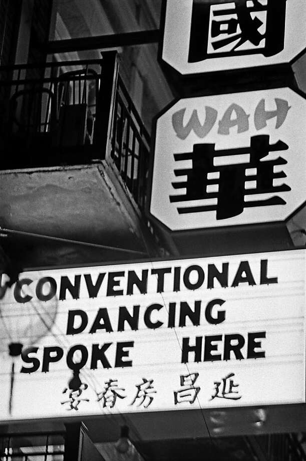"Chinatown has nightclubs where, occasionally, ""conventional dancing"" is spoken in early summer 1967 in San Francisco. Photo: Michael Ochs Archives, Getty Images"