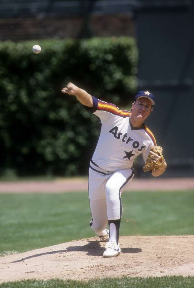 THE BEST Dec. 10, 1982: Astros acquire RHP Mike Scott from the Mets for OF Danny Heep.  Scott was a struggling starter for the Mets, so the Astros got him extremely cheap. Scott went on to become one of the National League's most dominant pitchers including a 1986 season where he went 18-10 with a 2.22 ERA and won the Cy Young Award. Photo: Focus On Sport, Getty Images