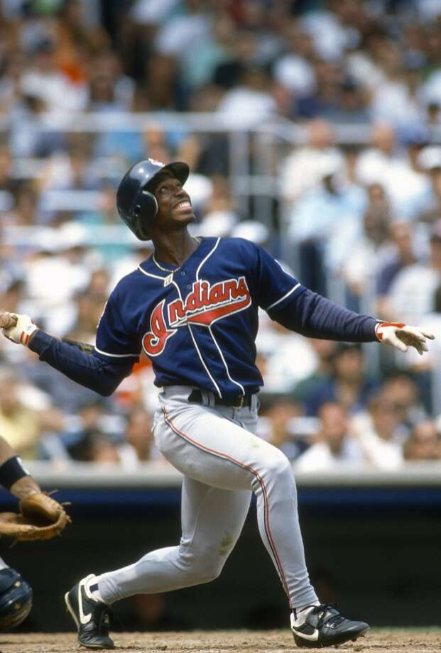 THE WORST Dec. 10, 1991: Astros send OF Kenny Lofton to Cleveland for C Eddie Taubensee and RHP Willie Blair.  With the Astros moving Craig Biggio to second base, they needed a catcher. Taubensee was thought to be one of the best catching prospects in all of the minor leagues. Taubensee played parts of three seasons with the Astros, never hitting better than .250. Meanwhile, Lofton, who was blocked in the Astros organization by Steve Finley, went on to have six straight All-Star seasons with the Indians. Photo: Focus On Sport, Getty Images