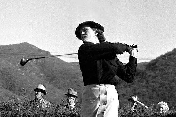 In 1950, there were three major women's golf tournaments - the U.S. Open, the Titleholders Championship and the Western Open - and Babe Didrikson Zaharias won them all.