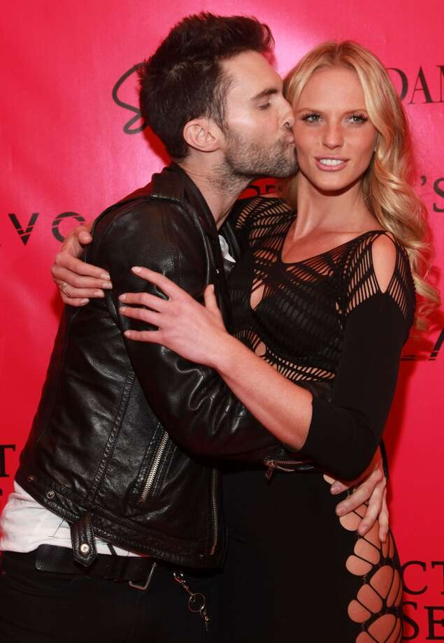 The Maroon 5 frontman also dated Victoria's Secret model Anne Vyalitsyna.  They dated from 2010 until April 2012. Photo: Astrid Stawiarz, Getty Images