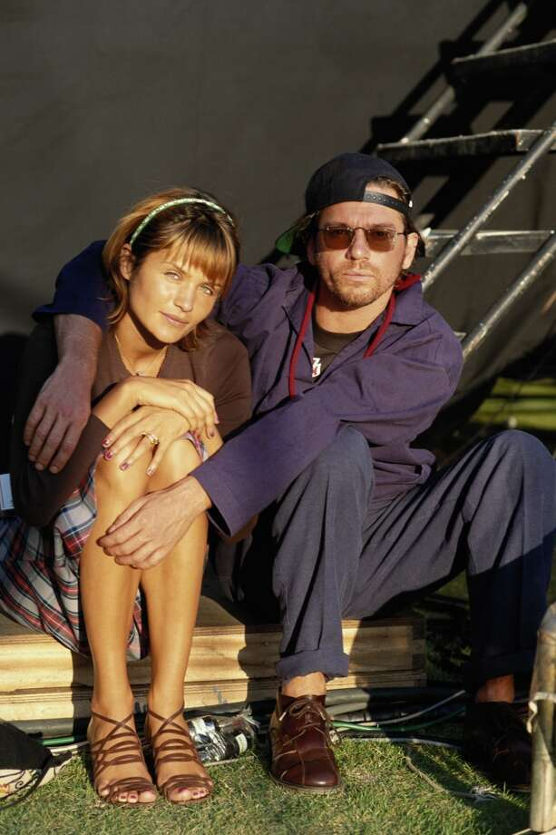 Danish model Helena Christensen and INXS singer Michael Hutchence were a couple from 1991-1995. She is now a photographer and has a son with her former partner, 'Walking Dead' actor Norman Reedus. Hutchence died at age 37 in 1997. Photo: Denis O'Regan, Getty Images