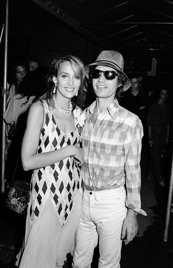 And then we have Mick Jagger and Jerry Hall. Once of the hottest models in the '70s, Hall began dating the Rolling Stones frontman in 1977, while he was  married to Bianca Jagger. They had four children together, married in 1990 and then, finally, the marriage was annulled in 1999. Photo: Time & Life Pictures, Time Life Pictures/Getty Images