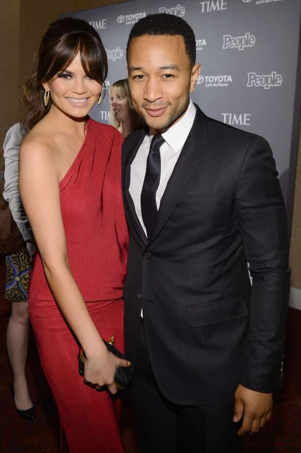 Sports Illustrated model Chrissy Teigen and  musician John Legend, after dating for four years, got engaged in 2011 and married in 2014. Photo: Larry Busacca, Getty Images For Time Inc