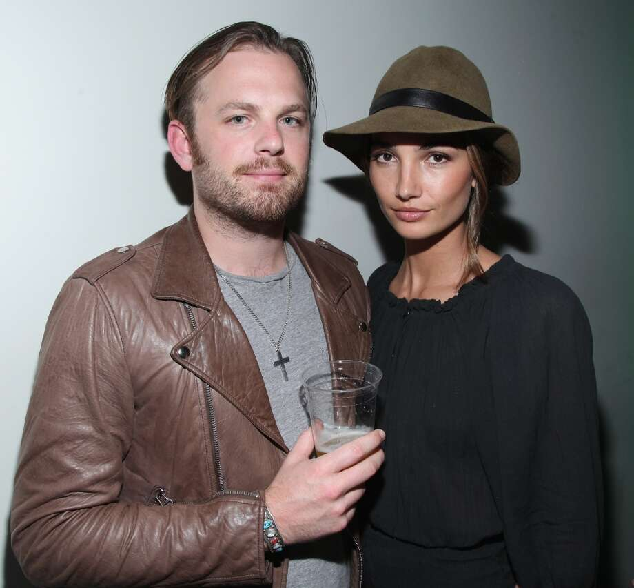 Singer Caleb Followill of Kings of Leon and Victoria's Secret Angel Lily Aldridge began dating in 2007, married in 2011 and welcomed a daughter in 2012. Photo: Taylor Hill, WireImage