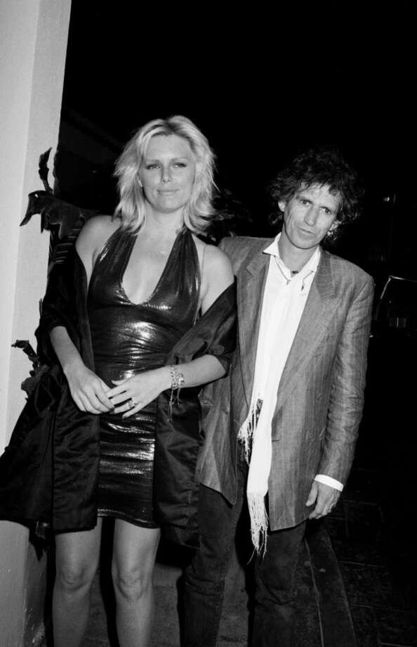 Seventies model Patti Hanson married Rolling Stones guitarist Keith Richards in 1983. Photo: Time & Life Pictures, Time Life Pictures/Getty Images