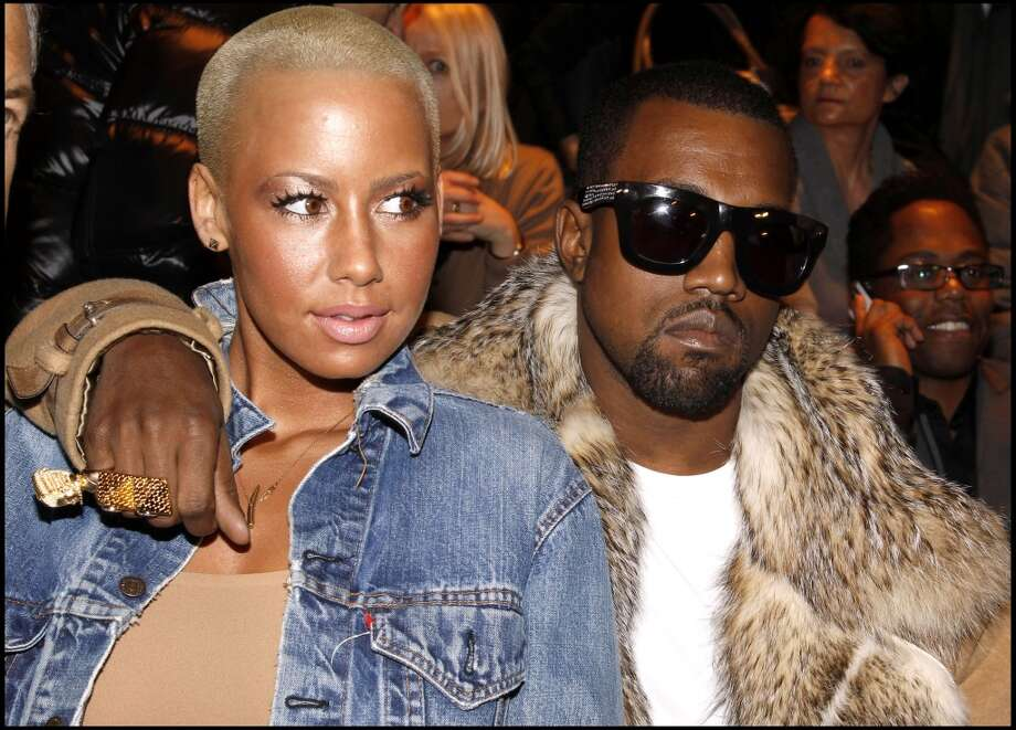 Before her marriage to Khalifa, Rose dated Kanye West for close to two years. Photo: Bertrand Rindoff Petroff, Getty Images