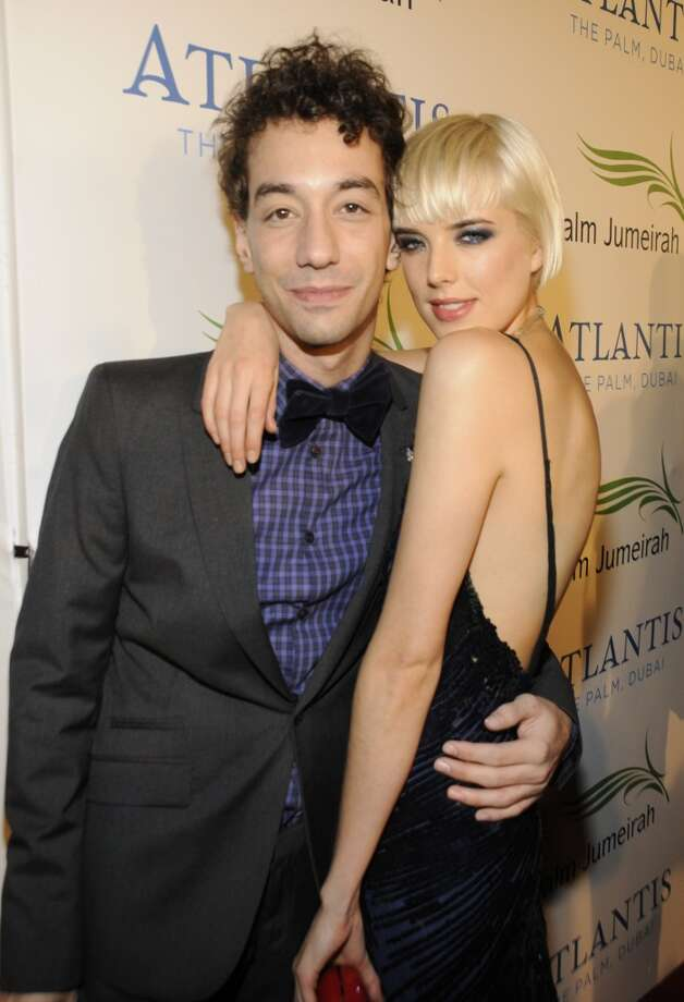 Strokes guitarist Albert Hammond Jr. and model Agyness Deyn dated for about a year before splitting (reportedly they ended things after a Vogue Valentine's Day shoot). She's now married to Giovanni Ribisi. But, hey, he's an actor. Hmm, do we sense a models and actors theme in the future? Photo: Kevin Mazur, WireImage