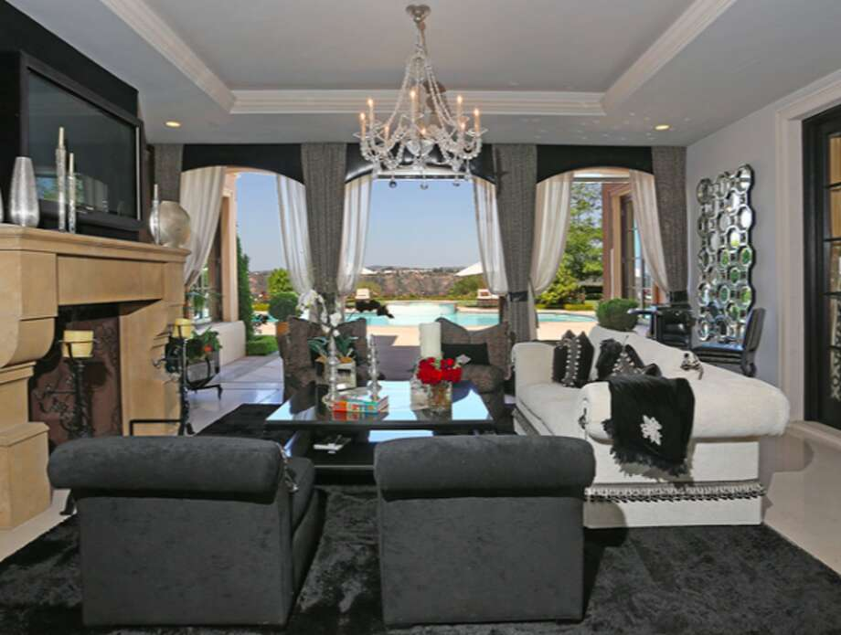 Nice view from living room.  Photos via Trulia Luxe.
