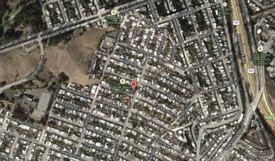 100 block of Tucker Avenue, San Francisco, CA Photo: Google Maps