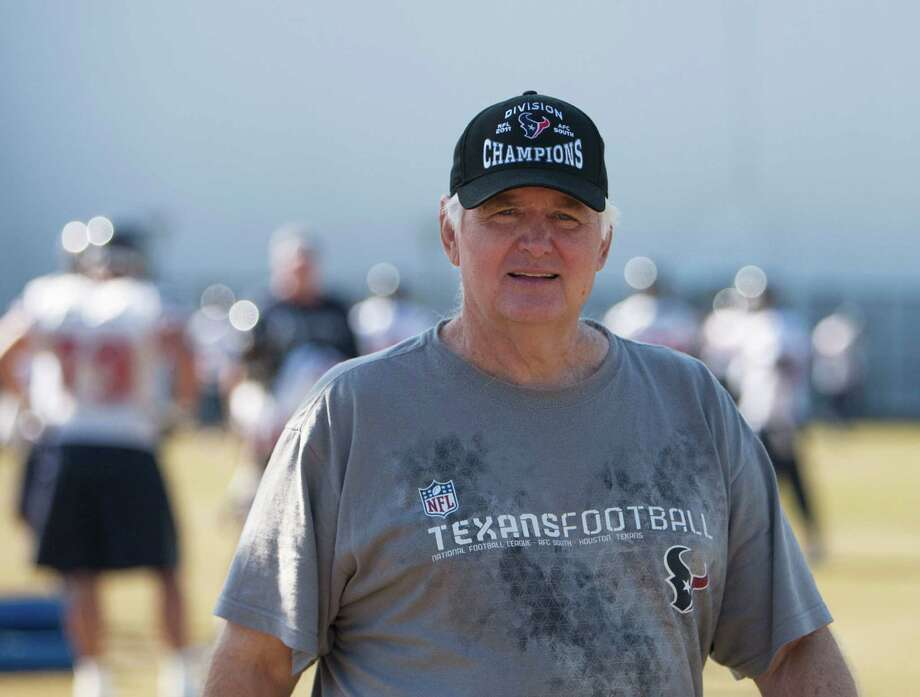 2012 1. Wade Phillips, Texans defensive coordinator Why he matters: The one constant over the Texans' first nine seasons through two head coaches had been a mediocre defense. Enter Wade and, suddenly, they're the Steel Blue Curtain. This despite the fact that he was installing a completely new system without the benefit of any off-season prep time because of the lockout. An additional aspect of his prominence is his royal lineage. Father Bum is the most beloved coach in Houston's history. Also, Wade launched his NFL coaching career with Bum at the outset of the Luv ya Blue Era. Photo: James Nielsen, Chronicle / © 2011 Houston Chronicle