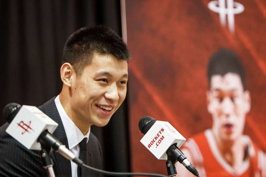 2012 2. Jeremy Lin, Rockets point guard Why he matters: For-real star power! So what if he's only got 25 NBA games under his belt. Even non-basketball fans have heard of Lin, the most explosively ascendant American athlete in recent memory. Overnight, his signing makes the Rockets relevant again. Photo: Michael Paulsen, Houston Chronicle / © 2012 Houston Chronicle