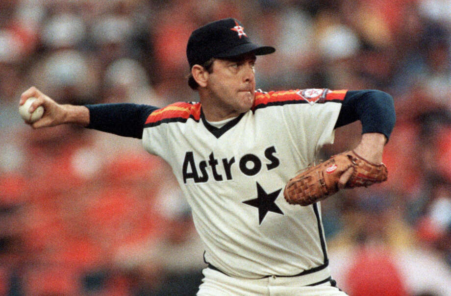 Astros sign Nolan Ryan (Nov. 1979)The Hall-of-Famer became the first MLB player to earn more than $1 million in one year after he signed a four-year, $45-million contract with the Astros ahead of the 1980 season. In nine seasons with Houston, Ryan went 106-94 with a 3.13 ERA in 282 starts and threw his fifth career no-hitter. Photo: Howard Castleberry, Houston Chronicle / Houston Chronicle