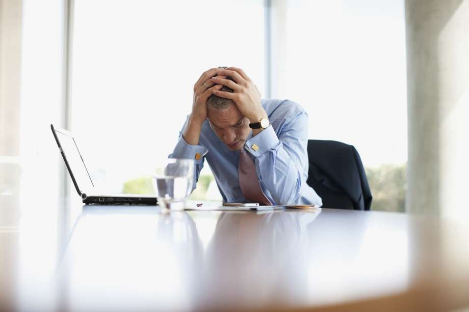 Men are more likely to do nothing at all to manage their stress, but the numbers are low for both men (9 percent) and women (4 percent). Photo: Tom Merton, Getty Images/OJO Images RF