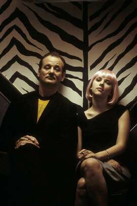 PREVIEW24-funky  For PREVIEW24, Datebook, Requested by Ruthe Stein; Bill Murray and Scarlett Johansson star in Sofia Coppola's LOST IN TRANSLATION, a Focus Features release ; on 8/18/03 in .   / HO