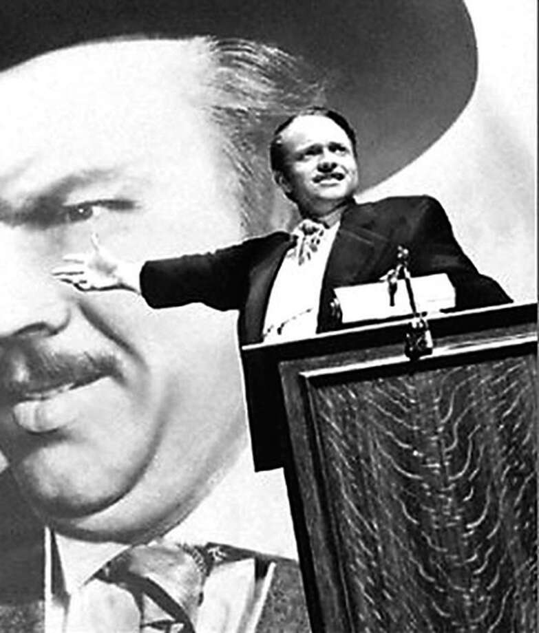 """Orson Welles in """"Citizen Kane"""": A great movie easier to admire than like. Photo: Handout / The Chronicle"""