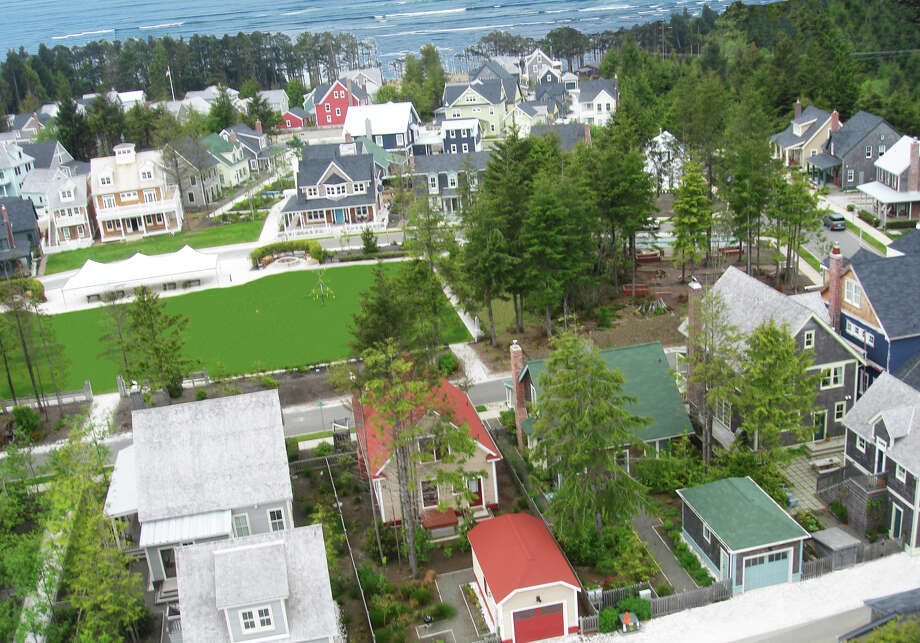 A bird's-eye view of Seabrook.  Photo: Photo Courtesy Seabrook, Seabrook