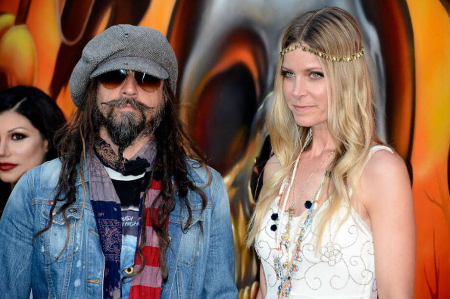 LOS ANGELES, CA - MAY 02:  Rob Zombie and Sheri Moon Zombie arrives at the 5th Annual Revolver Golden Gods Award Show  at Club Nokia on May 2, 2013 in Los Angeles, California.  (Photo by Frazer Harrison/Getty Images) Photo: Frazer Harrison, Getty Images / 2013 Getty Images