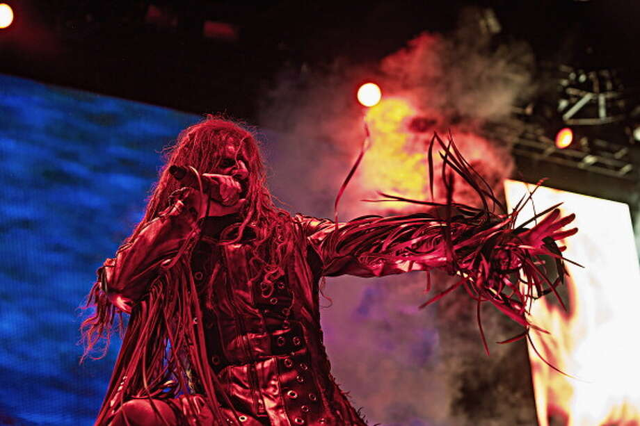 AUBURN, WA - JULY 03:  Rob Zombie performs during the Rockstar Energy Drink Mayhem Festival at the White River Amphitheater on July 3, 2013 in Auburn, Washington.  (Photo by Mat Hayward/Getty Images) Photo: Mat Hayward, Getty Images / 2013 Mat Hayward