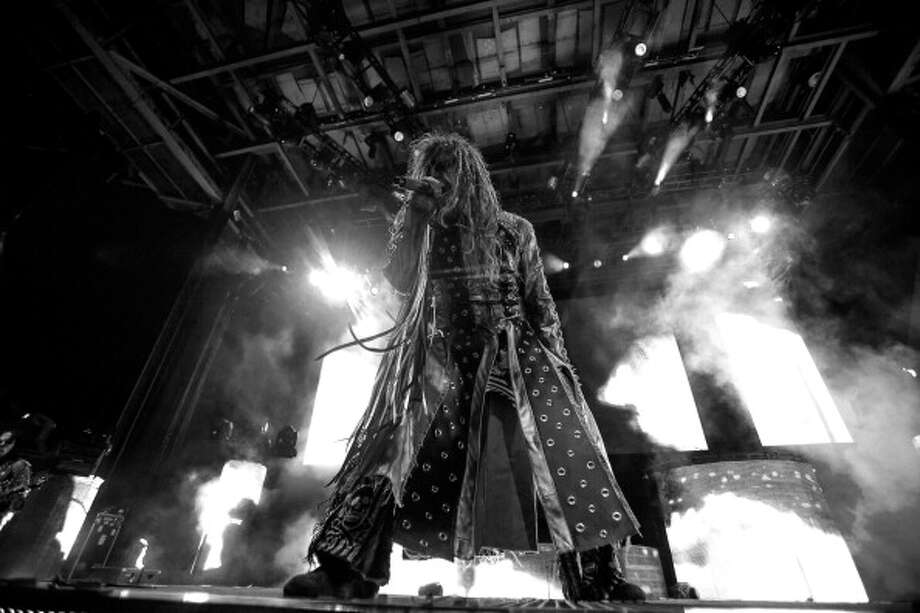 CLARKSTON, MI - JULY 28:  Rob Zombie performs during the Rockstar Energy Drink Mayhem Festival at the DTE Energy Music Theater on July 28, 2013 in Clarkston, Michigan.  (Photo by Scott Legato/Getty Images) Photo: Scott Legato, Getty Images / 2013 Scott Legato
