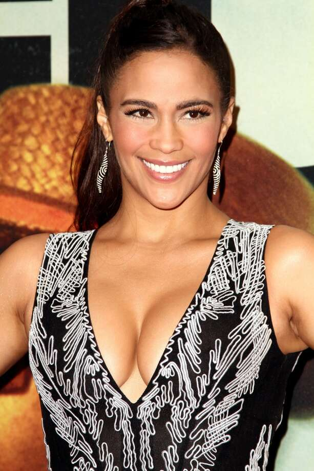 "Actress Paula Patton attends ""2 Guns"" New York Premiere at SVA Theater on July 29, 2013 in New York City.  (Photo by Monica Schipper/Getty Images) Photo: Monica Schipper, Getty Images"