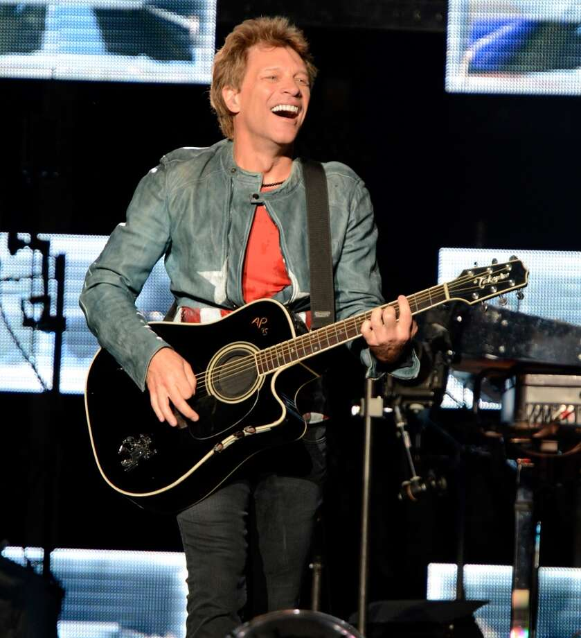 Jon Bon Jovi: 2013Age: 51 Photo: Kevin Mazur, WireImage