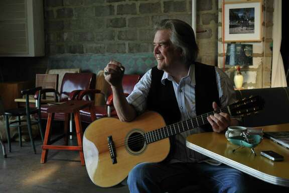 Guy Clark (above) offers an open-hearted tribute to his wife.