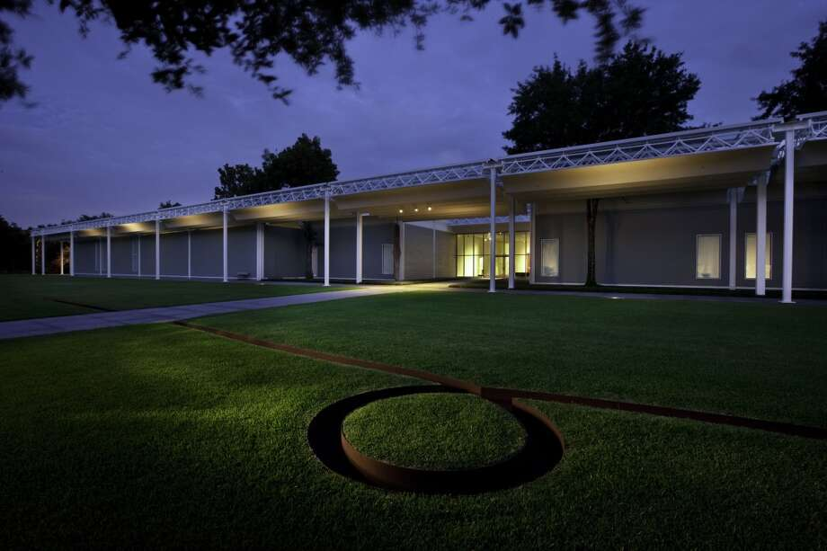 Spend all their time at tourist traps.   You could be at any one of our beautiful museums.  Photo: J. Griffis Smith, The Menil