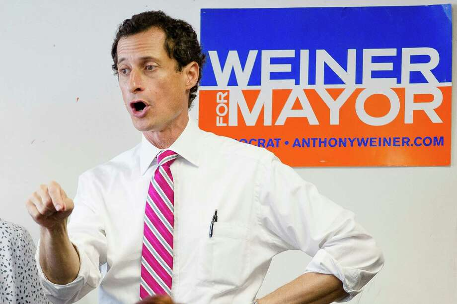 New York City mayoral hopeful Anthony Weiner has admitted to having illicit online exchanges with women even after he resigned from Congress amid a sexting scandal. Photo: John Minchillo, FRE / FR170537 AP