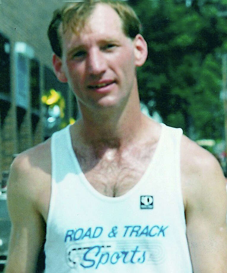 Wallie Jahn wore his Road & Track Sports shirt proudly in many an area road race. 