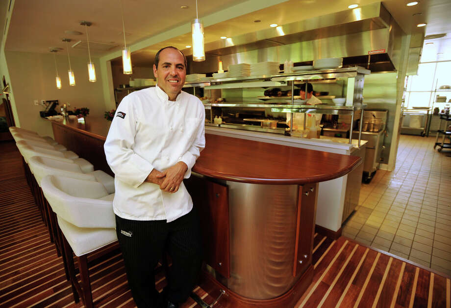 Albert DeAngelis is the executive chef at Mediterraneo, a restaurant inside Hotel Zero Degrees, in Norwalk on Tuesday, July 30, 2013. Photo: Jason Rearick / Stamford Advocate