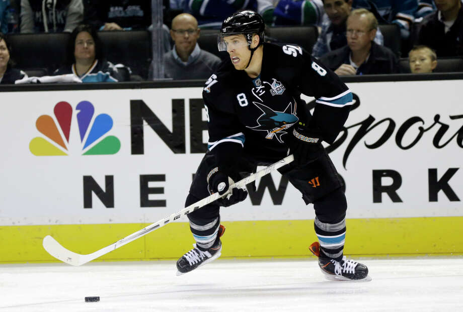 Joe Pavelski is among the high-profile forwards returning to the lineup of the  Sharks. Photo: Marcio Jose Sanchez, STF / Associated Press / AP