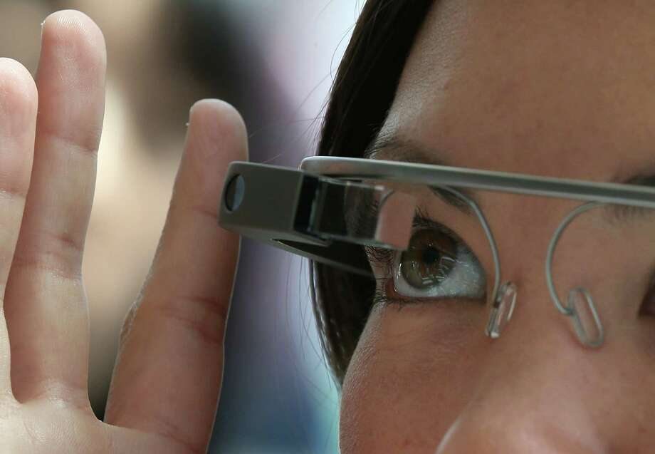 Google wants young filmmakers to help ways for the wearable computer device Google Glass to be used to make movies. The Internet giant is lending each of five film schools three pairs of Google Glass. Photo: Justin Sullivan, Staff / 2013 Getty Images