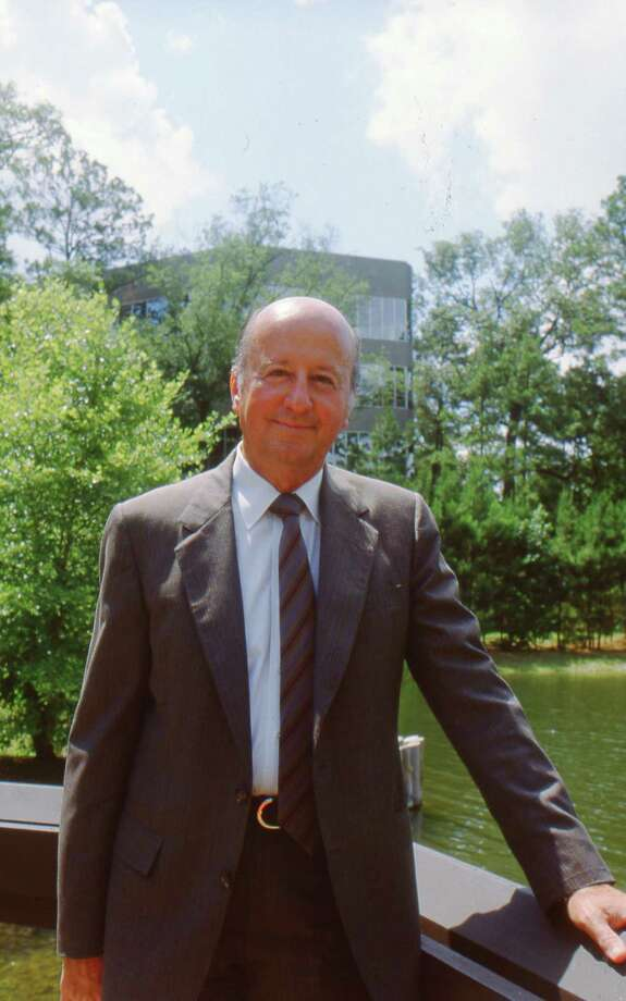 06/26/1987 - George P. Mitchell, chairman of Mitchell Energy & Development Corp. Photo: Cathy A. Smith, HP Staff