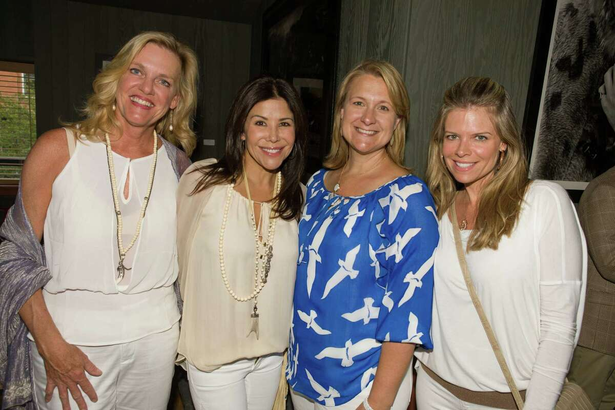 From left, Catherine Howell, Ericka Bagwell, Jenee Bobbora and Stephanie Perkins at the University of Texas M.D. Anderson Cancer Center's 2013 Making Cancer History events in Aspen, Colo.