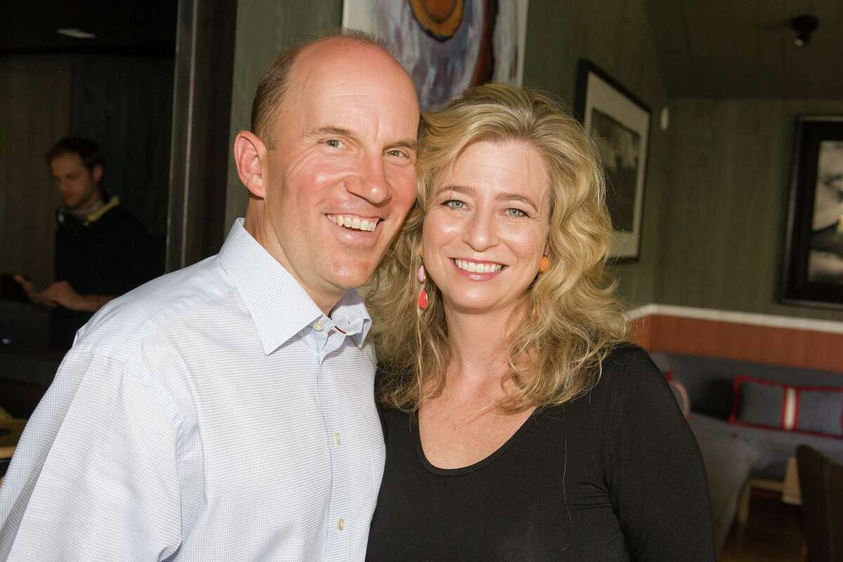 Andrew and Laura McCullough at the University of Texas M.D. Anderson Cancer Center's 2013 Making Cancer History events in Aspen, Colo.