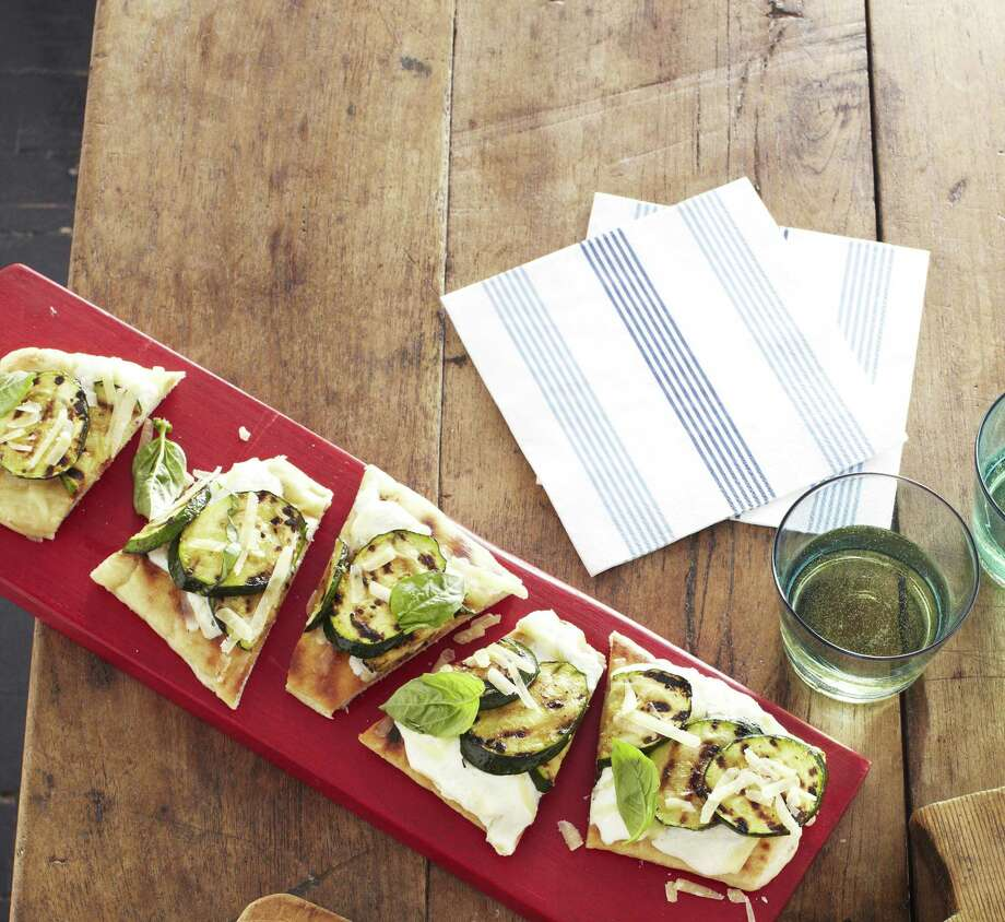 Good Housekeeping recipe for Pizza with Zucchini. Photo: Kate Mathis