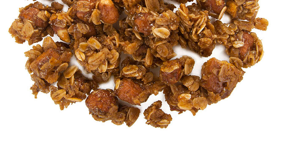 Woats: Nuts About Berries; Cookies  n  Dreams; Peanut Butter Graham Slam are 3 new granola snacks on the shelves of your grocer now. Buy it: $6 for a 10-ounce bag at woats.com. Photo: Woats